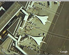 A couple of Concordes at Heathrow from Google Earth