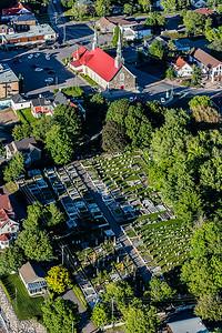 Saint-Jean-Port-Joli L,église et le cimetière no 3