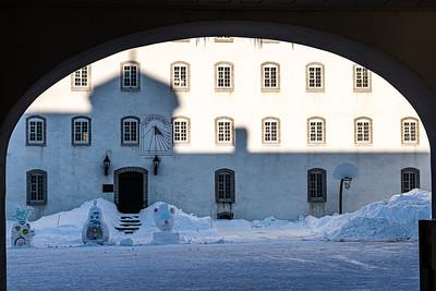 La cour des Petits (Petit Séminaire de Québec)