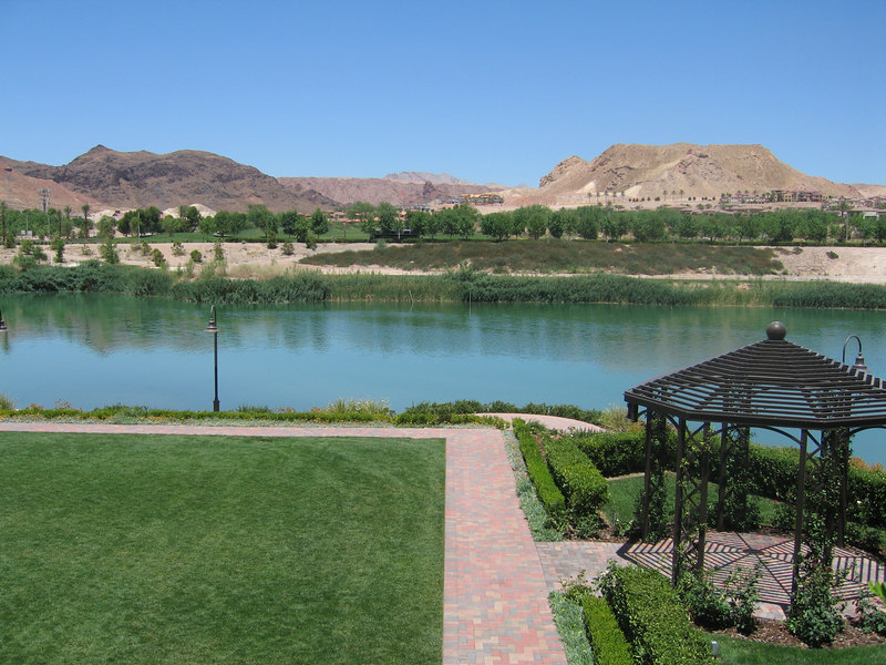 View from Ritz-Carlton, Lake Las Vegas
