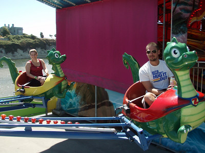 AdWords Team Offsite at the Santa Cruz Beach Boardwalk