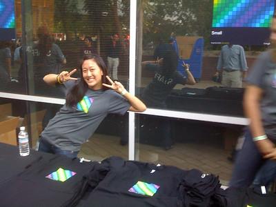 Google dance tshirts