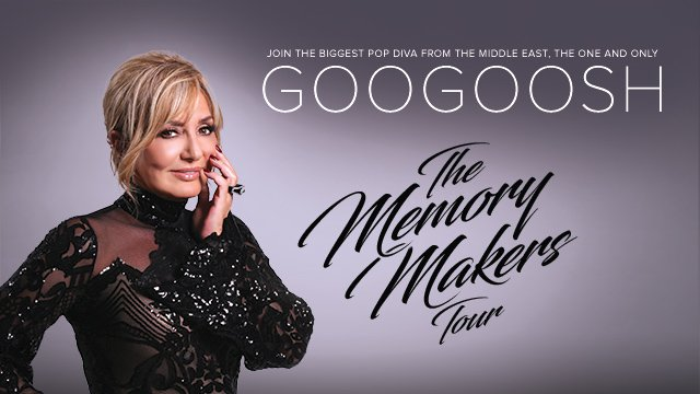 Googoosh - The Memory Makers Tour
