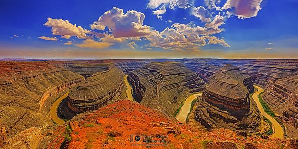 """""""Twisted Waters,"""" San Juan River, Goosenecks State Park, Utah"""