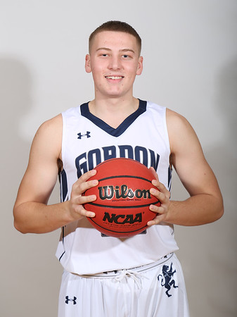 Gordon Men's Basketball Posed Photos 2016-2017