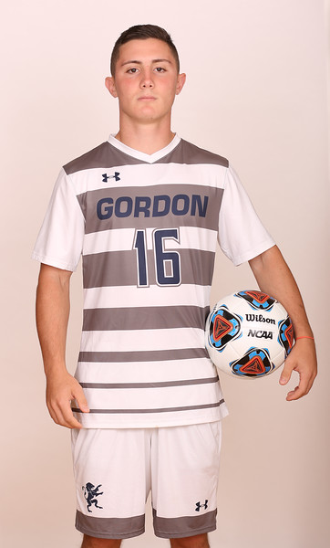 Gordon Men's Soccer Posed Photos 2016
