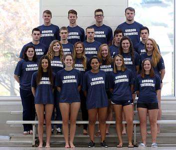 Gordon Swimming Team Photos 2016-2017