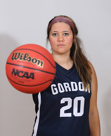 Gordon Women's Basketball Posed Photos 2016-2017