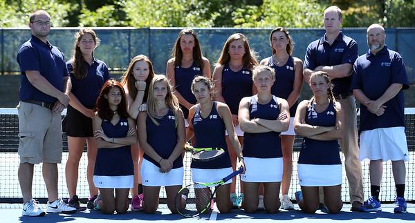 Gordon Women's Tennis Posed Photos 2016