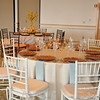 Example of the type of table and chairs. This was set up for another guest to come to view two different tablescapes for a wedding.