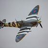 WWII British Spitfire Fighter Plane