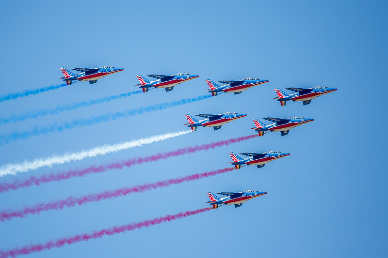 Patrouille de France flying team