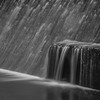Edison Power Generation Plant Waterfall Abstract