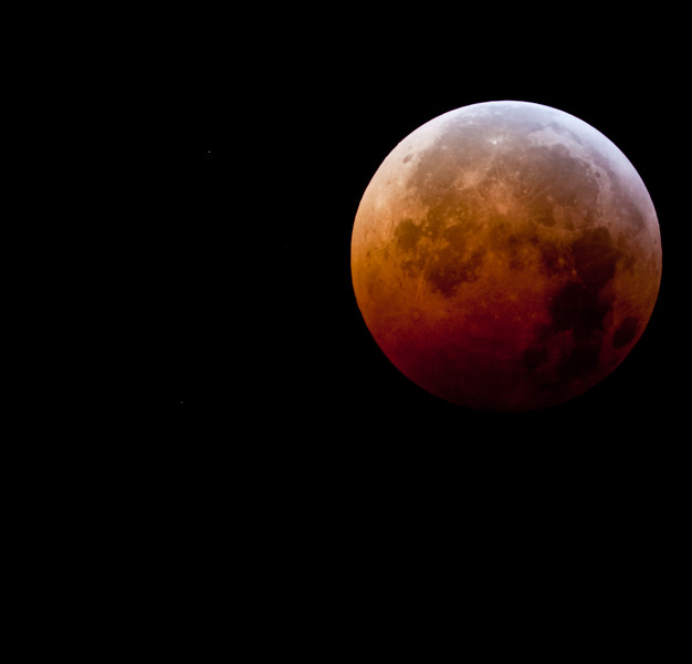 Blood Moon at Eclipse