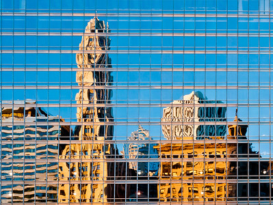 Chicago Trump Tower Reflection