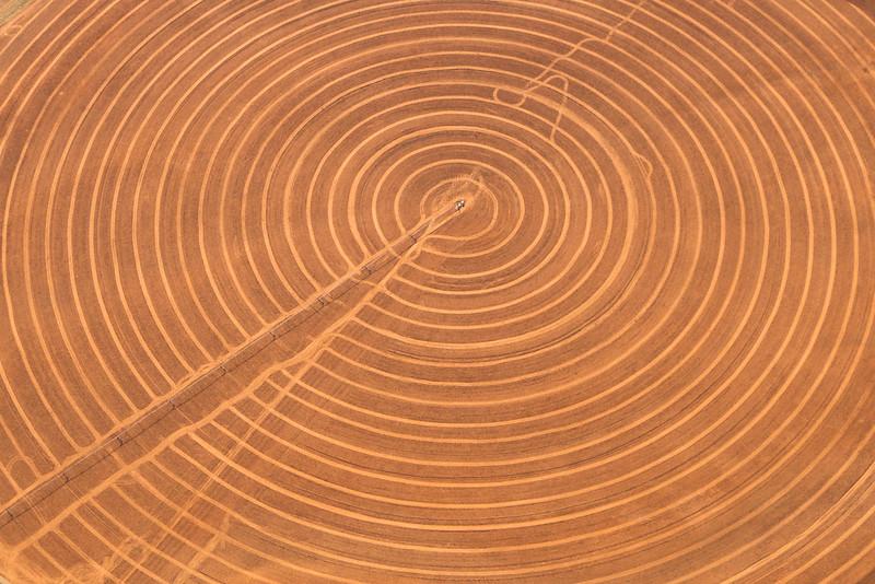 Irrigation Art - Crop Circles