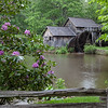 Mabry Mill along the Blue Ridge Parkway near Dan Virginia