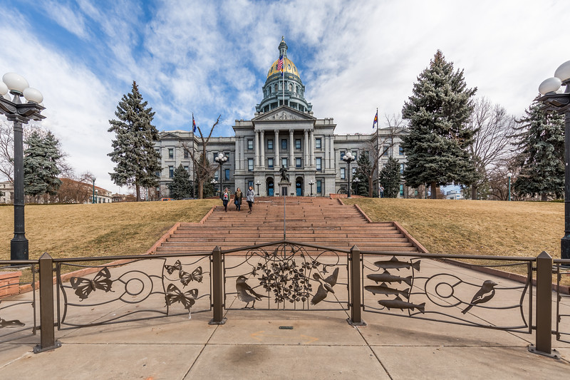 Colorado State Capitol, Denver, February 2017