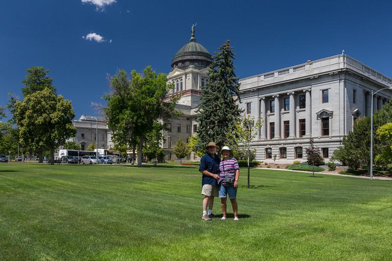 Montana State Capitol, Helena, July 2013