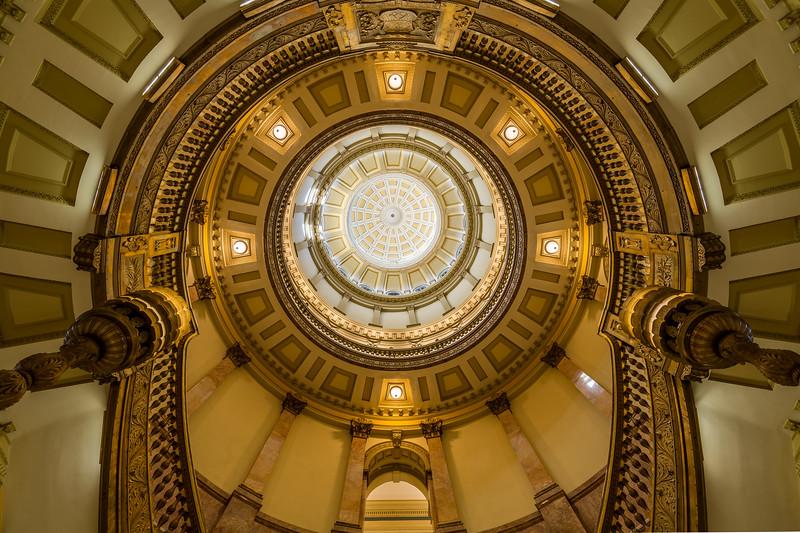 Colorado State Capitol, Denver, February 2017