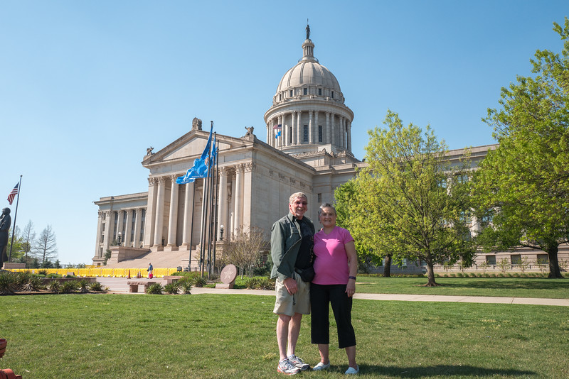 Oklahoma State Capitol, Oklahoma City, April 2016