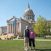 Oklahoma State Capitol, Oklahoma City, April 2016