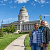 Utah State Capitol in Salt Lake