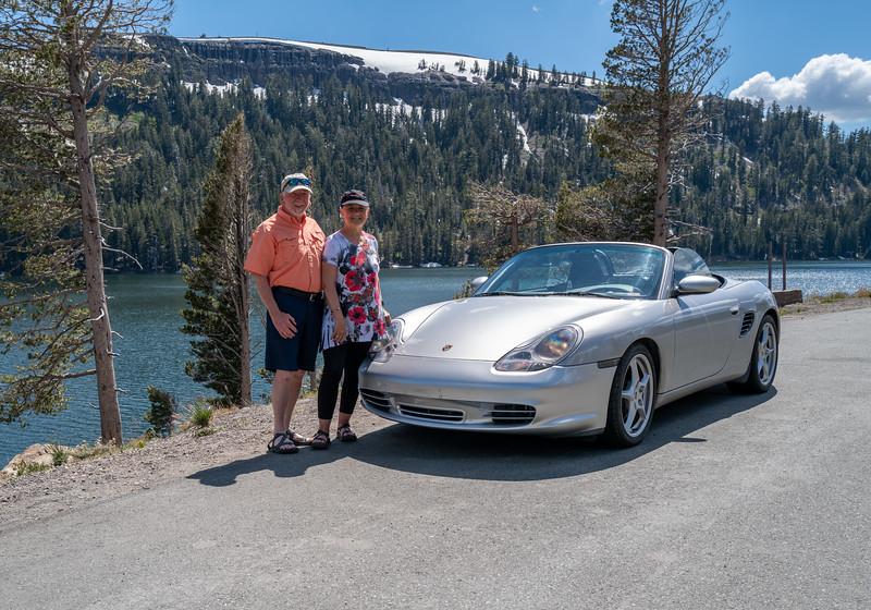 On the way to Lake Tahoe, CA
