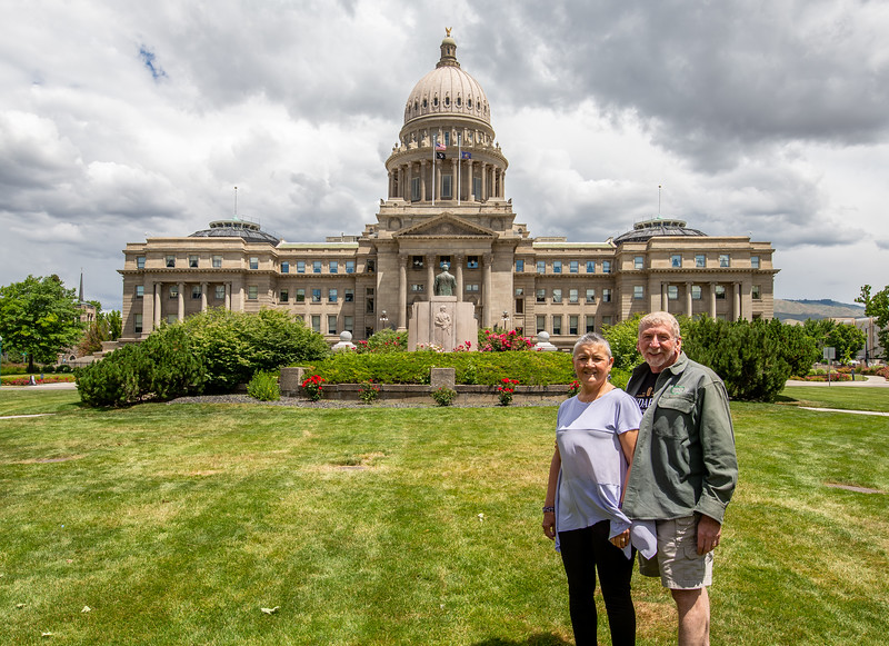 Idaho State Capitol in Boise