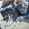 Gorilla Mural - Anat Ronen