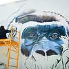 Gorilla Mural Anat Ronen