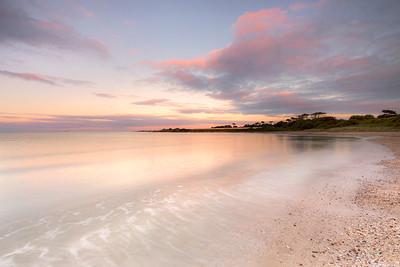 Evening Light at Gormanston Beach-IMG_0122