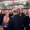 LYNNE ZEHR| THE GOSHEN NEWS<br /> Sharon Risser greets the crowd during the Goshen Theater's event.
