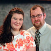 LYNNE ZEHR| THE GOSHEN NEWS<br /> Angie Troyer and Joe Saunders attend Admit One.