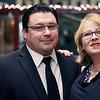 LYNNE ZEHR| THE GOSHEN NEWS<br /> Jenni and Jason Samuel are pictured at Admit One.