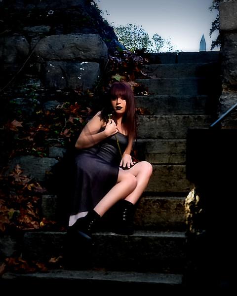 Goth shoot Ciara