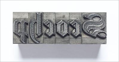 19th-century gothic type