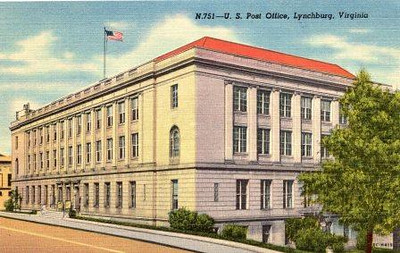 Postcard U.S. Post Office #751 (05018)