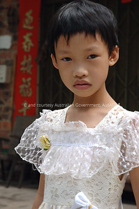 Young Girl, Nanning, China, 2006. Courtesy & © Australian Government, AusAID. AUSAIDXXX
