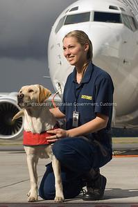 Australian Customs Service shoots. Courtesy and © Australian Government, ACS