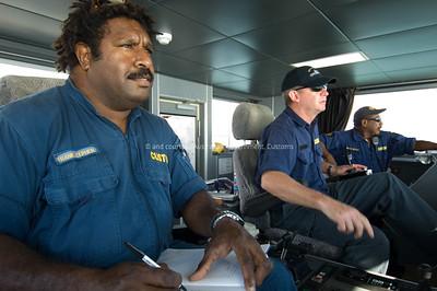 Australian Customs Vessel Patrol, May 2007. Courtesy and © Australian Government, ACS