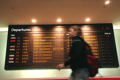 Melbourne Airport, June 2006. Courtesy and © Australian Government, ACS