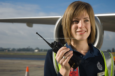 Adelaide Airport, July, 2007. Courtesy and © Australian Government, ACS