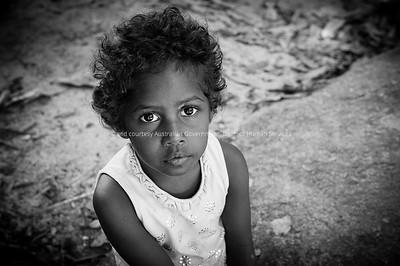 Shante Gibson, a member of the Mossman Gorge Community, Mossman, Queensland