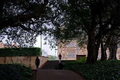 Various images from Sydney University, Sydney