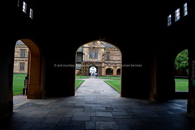 Various images from Sydney University, Sydney