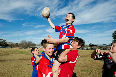Junior footballers, Coolah District, NSW