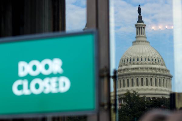 Government Shutdown 9/30/2013 - Washington D.C.