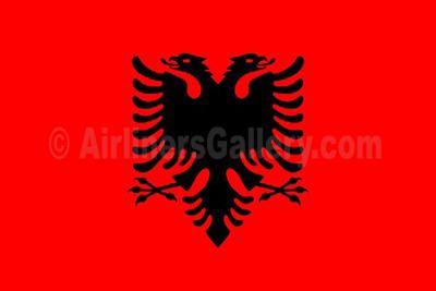 1. Albania flag