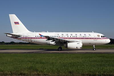 Armenia Government (Armavia) Airbus A319-132 (ACJ) EK-RA01 (msn 913) STN (Pedro Pics). Image: 908909.
